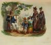 Voyages autour du Monde et naufrages célèbres 1843 - Planches couleurs - 8 v - Photo 9 - livre de collection