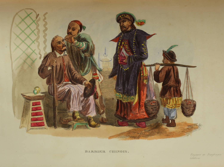 Voyages autour du Monde et naufrages célèbres 1843 - Planches couleurs - 8 v - Photo 17 - livre de collection