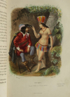 Voyages autour du Monde et naufrages célèbres 1843 - Planches couleurs - 8 v - Photo 1 - livre de collection