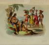 Voyages autour du Monde et naufrages célèbres 1843 - Planches couleurs - 8 v - Photo 3, livre rare du XIXe siècle