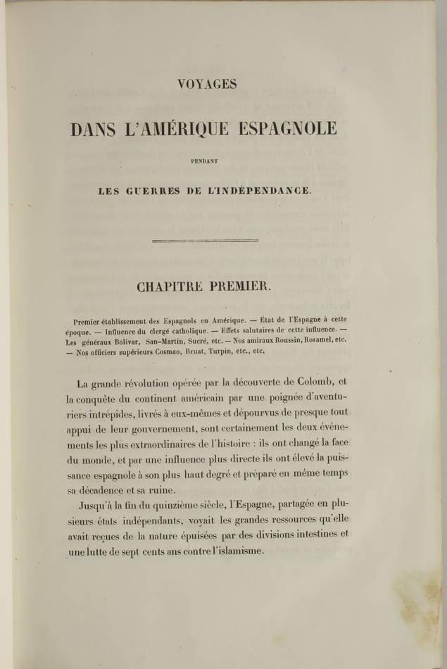 Voyages autour du Monde et naufrages célèbres 1843 - Planches couleurs - 8 v - Photo 8 - livre de collection