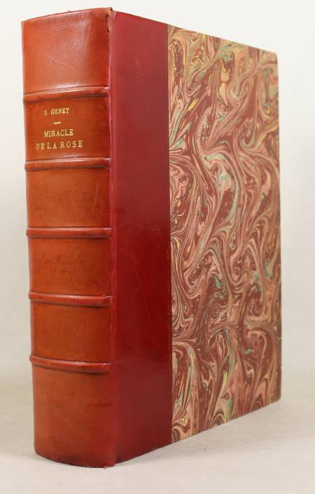 Jean GENET - Miracle de la rose - 1946 - EO in-4 sur pur fil Rives - Photo 1 - livre de collection
