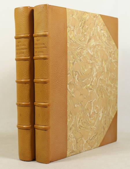 Les murailles révolutionnaires de 1848 - Affiches - Portraits - 2 volumes - 1868 - Photo 0 - livre rare