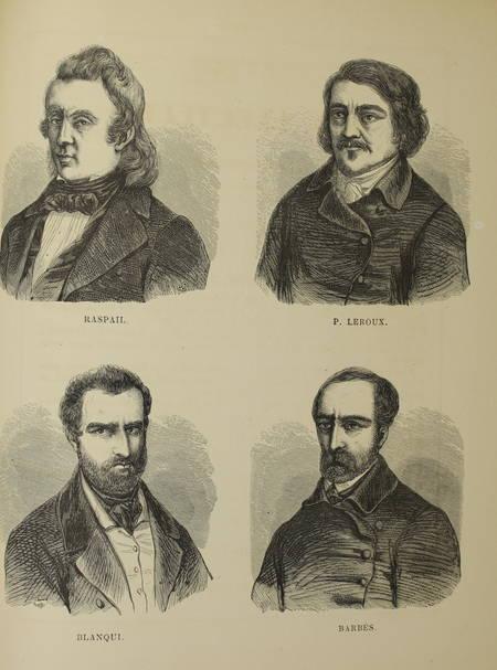 Les murailles révolutionnaires de 1848 - Affiches - Portraits - 2 volumes - 1868 - Photo 1 - livre d'occasion