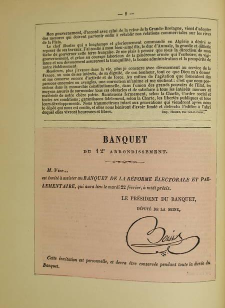 Les murailles révolutionnaires de 1848 - Affiches - Portraits - 2 volumes - 1868 - Photo 3 - livre d'occasion