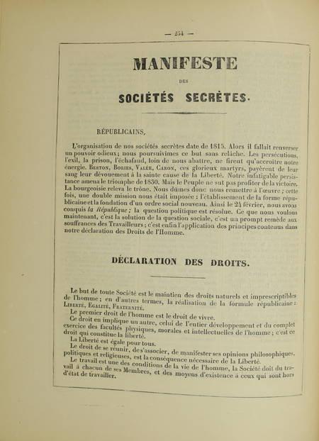 Les murailles révolutionnaires de 1848 - Affiches - Portraits - 2 volumes - 1868 - Photo 5 - livre d'occasion