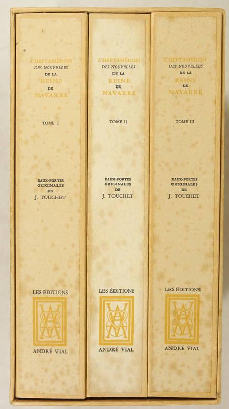 L'heptaméron de Marguerite d'Angoulême - Jacuqes Touchet - Dessin original - 3 v - Photo 1 - livre de collection
