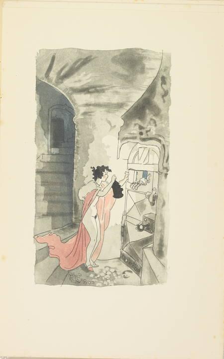 L'heptaméron de Marguerite d'Angoulême - Jacuqes Touchet - Dessin original - 3 v - Photo 2 - livre de collection