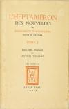 L heptaméron de Marguerite d Angoulême - Jacuqes Touchet - Dessin original - 3 v - Photo 3 - livre de bibliophilie