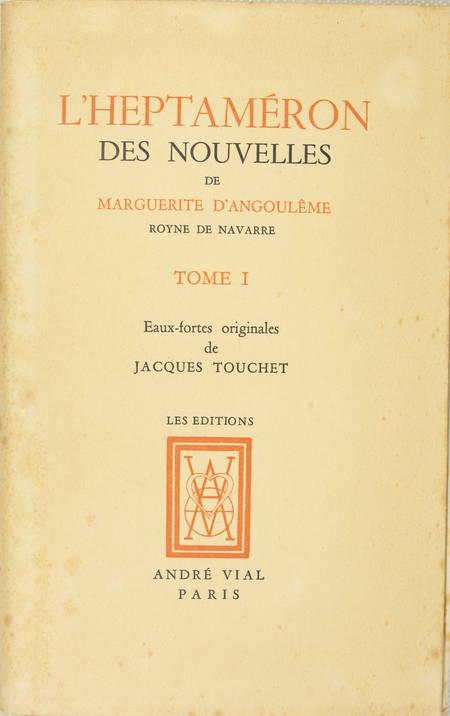 L'heptaméron de Marguerite d'Angoulême - Jacuqes Touchet - Dessin original - 3 v - Photo 3 - livre de collection