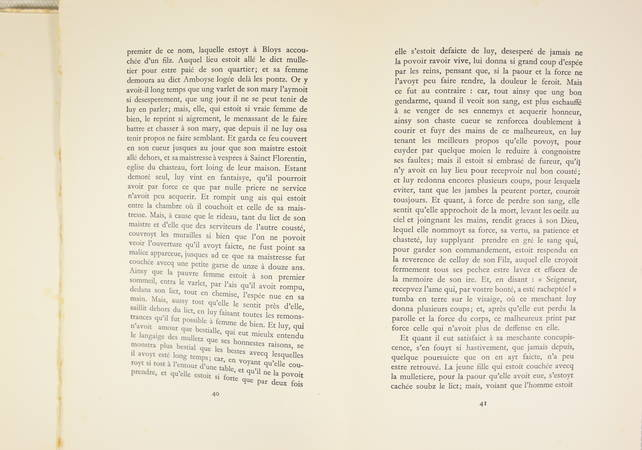 L'heptaméron de Marguerite d'Angoulême - Jacuqes Touchet - Dessin original - 3 v - Photo 4 - livre de collection