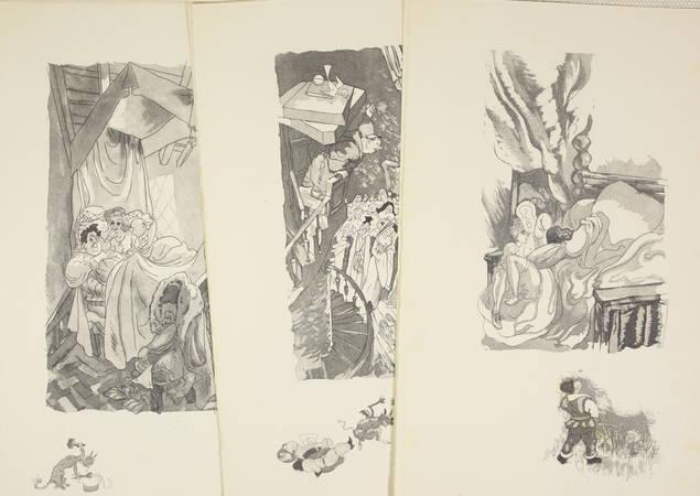 L'heptaméron de Marguerite d'Angoulême - Jacuqes Touchet - Dessin original - 3 v - Photo 5 - livre de collection