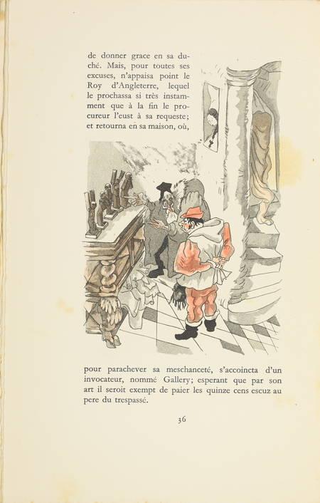 L'heptaméron de Marguerite d'Angoulême - Jacuqes Touchet - Dessin original - 3 v - Photo 6 - livre de collection