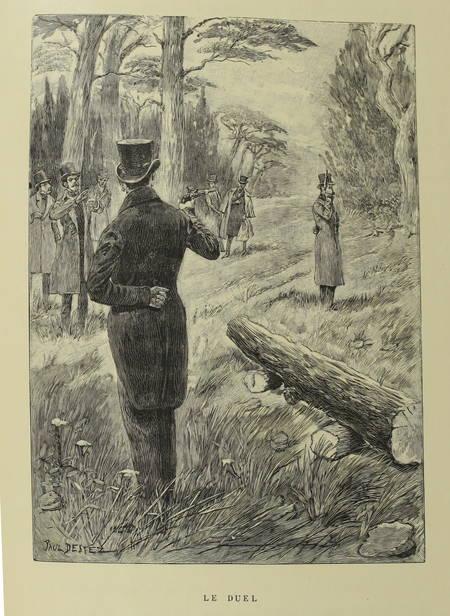 TINSEAU - La cousine pot-au-feu - 1893 - 1/25 Japon - Illustré par Paul Destez - Photo 1 - livre de bibliophilie