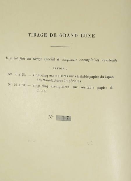 TINSEAU - La cousine pot-au-feu - 1893 - 1/25 Japon - Illustré par Paul Destez - Photo 3 - livre de bibliophilie