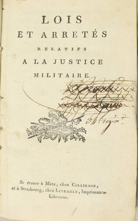 [Militaire] Convention nationale, Justice militaire, Infanterie en campagne 1792 - Photo 2 - livre rare