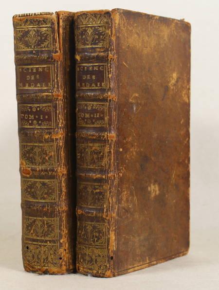 Jobert La science des médailles Avec des remarques - 1739 - 2 volumes - Planches - Photo 1 - livre de bibliophilie