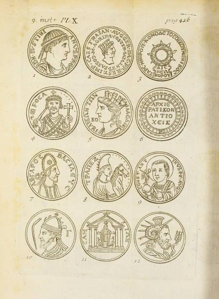 Jobert La science des médailles Avec des remarques - 1739 - 2 volumes - Planches - Photo 2 - livre de bibliophilie