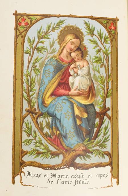 FLAVIGNY - La première communion. Règlement de vie pour la persévérance - 1878 - Photo 2, livre rare du XIXe siècle