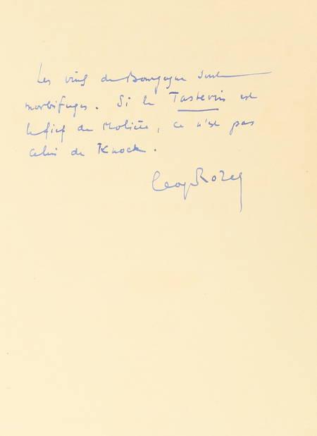 ROZET - La confrérie des chevaliers du Tastevin. Historique, scènes,... 1937 - Photo 0 - livre de bibliophilie