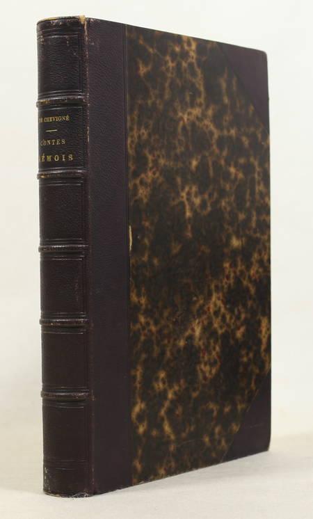 CHEVIGNE - Les contes rémois 1843 - Première édition illustrée - Photo 1, livre rare du XIXe siècle