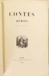 CHEVIGNE - Les contes rémois 1843 - Première édition illustrée - Photo 2, livre rare du XIXe siècle