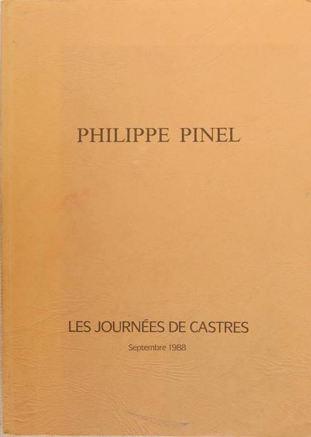 . Philippe Pinel. Les journées de Castres, septembre 1988