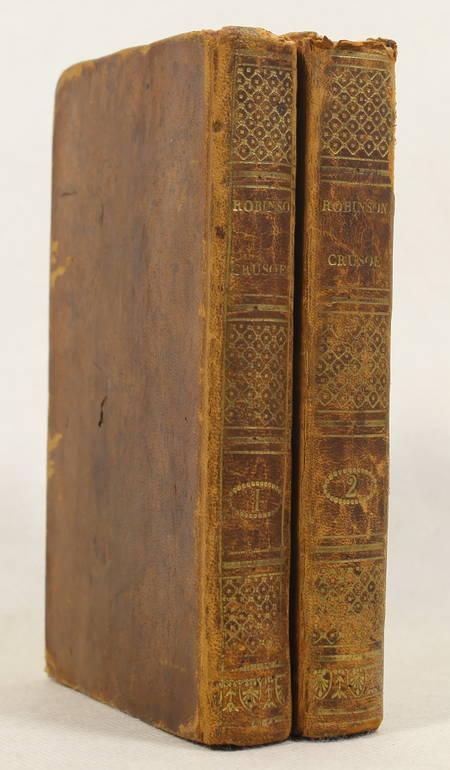Robinson Crusoe, par Feutry - 1809 - 2 volumes, frontispices - Photo 1 - livre ancien