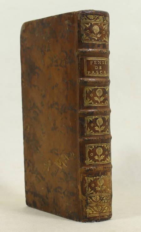 PASCAL - Pensées sur la religion, et sur quelques autres sujets - 1761 - Photo 0 - livre du XVIIIe siècle