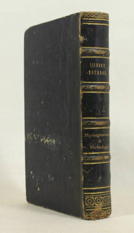 BOURDON - La physiognomonie et la phrénologie ou connaissance de l'homme 1842 - Photo 1 - livre de bibliophilie