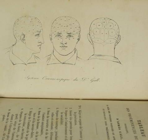 BOURDON - La physiognomonie et la phrénologie ou connaissance de l'homme 1842 - Photo 2 - livre de bibliophilie
