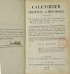[Astronomie] DANTAL - Calendrier perpétuel et historique - 1810 - Photo 2 - livre d occasion