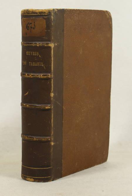 Les oeuvres de Tabarin, avec Les adventures du capitaine Rodomont ... - 1858 - Photo 1 - livre d'occasion