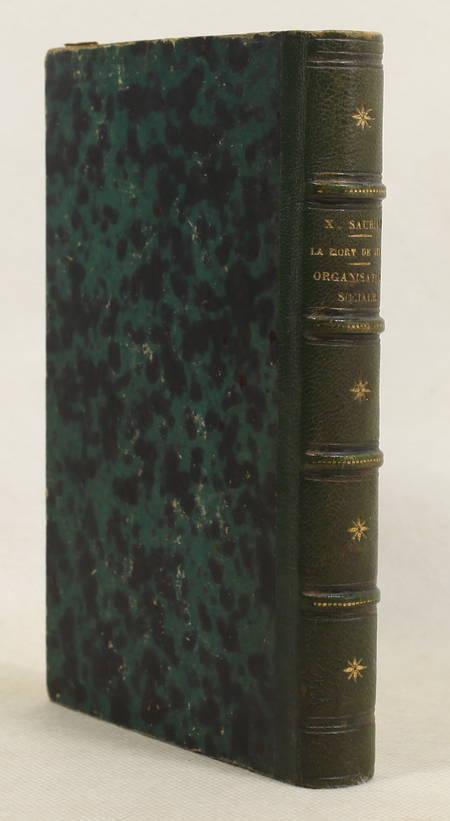 SAURIAC - La mort de Jésus + Un système d'organisation sociale - 1869-1871 - Photo 0 - livre d'occasion
