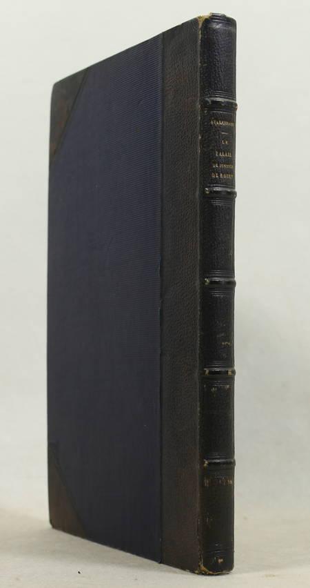STABENRATH (M. de). Le palais de justice de Rouen, livre rare du XIXe siècle