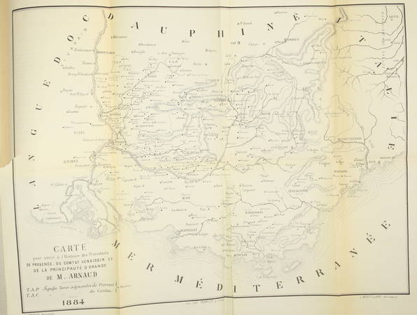 ARNAUD - Histoire des protestants de Provence, du Comtat Venaissin ... - 1884 - Photo 2 - livre de bibliophilie