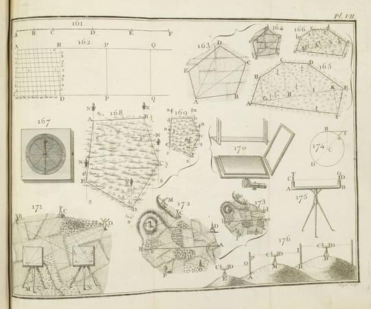LEMOINE d'ESSOIES - Traité élémentaire de mathématiques - 1789 - Photo 0 - livre rare