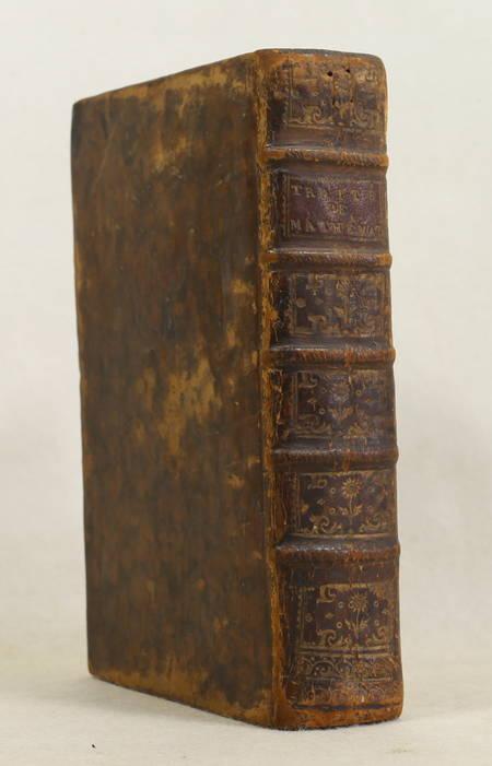 LEMOINE d'ESSOIES - Traité élémentaire de mathématiques - 1789 - Photo 1 - livre ancien