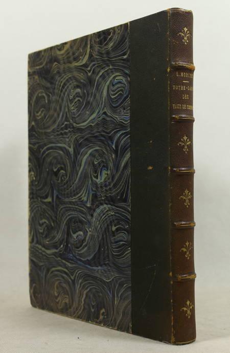 MORIZE - Etude archéologique sur l'abbaye des Vaux de Cernay - 1889 - In-4 - Photo 0 - livre rare