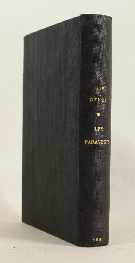 Jean GENET - Les paravents - 1961 - EO - 1/160 Lana - Photo 1 - livre d'occasion