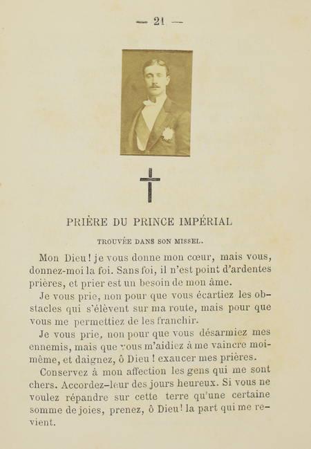 . Oraison funèbre du prince impérial par son Éminence le cardinal Henri-Édouard Manning, archevêque de Westminster, dans l'église de Sainte-Marie de Chislehurst le 13 juillet 1879