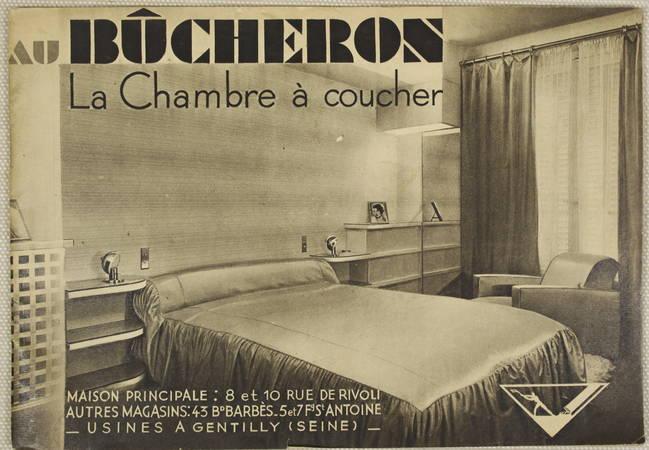 [Mobilier Literie] Au Bûcheron - La chambre à coucher - Vers 1930-1940 - Photo 0 - livre rare