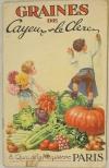 . Graines de Cayeux et Leclerc. Catalogue général de Cayeux et Leclerc, 8 quai de la Mégisserie