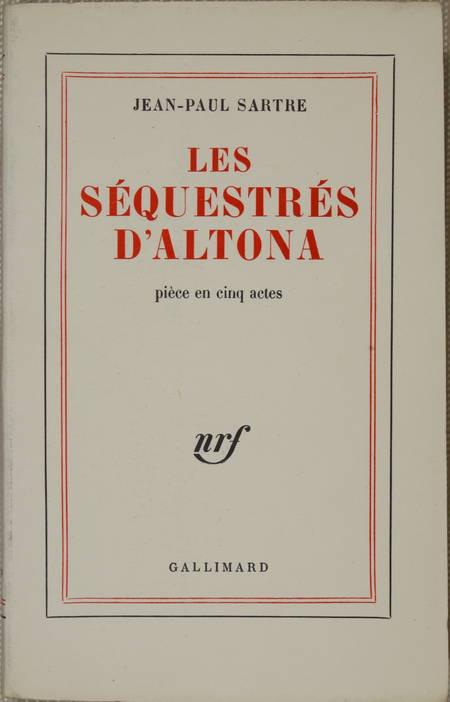 SARTRE - Les séquestrés d'Altona. Pièce en cinq actes - 1960 - 1/200 pur fil - Photo 1 - livre de collection