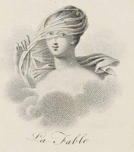 MOLLEVAUT - Cent fables de quatre vers chacune - (1821) - Photo 3 - livre romantique