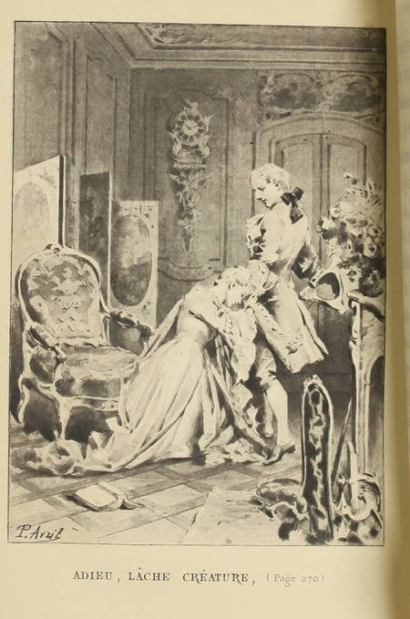 PREVOST - Histoire de Manon Lescaut - (1886) - Illustrations de Paul Avril - Photo 0 - livre de collection