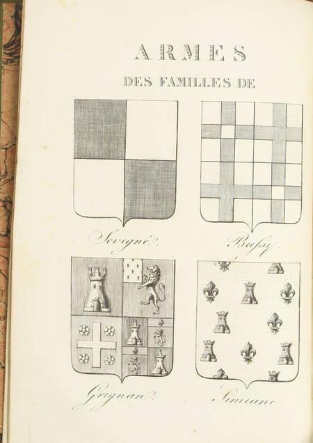 Lettres de Madame de Sévigné - Blaise 1818 - 10 vol in-8 + Coulanges de 1820 - Photo 8 - livre de bibliophilie