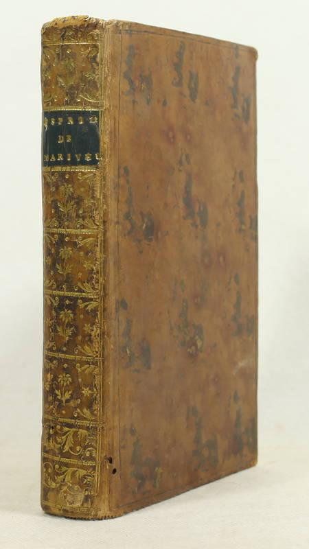 Esprit de Marivaux, ou analectes de ses ouvrages - 1769 - Photo 0 - livre du XVIIIe siècle