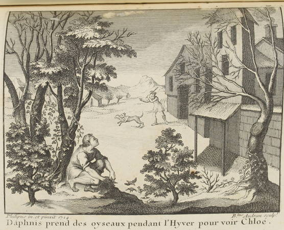 LONGUS Amours pastorales de Daphnis et Chloé 1796 - Audran d'après Ph. d'Orléans - Photo 2 - livre du XVIIIe siècle