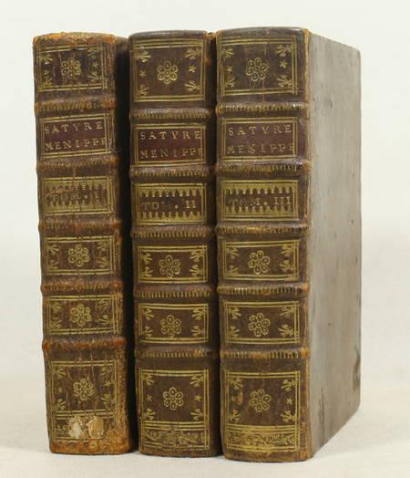 Satyre ménippée de la vertu du catholicon d'Espagne - 1726 - 3 volumes - 10 pl. - Photo 1 - livre de collection
